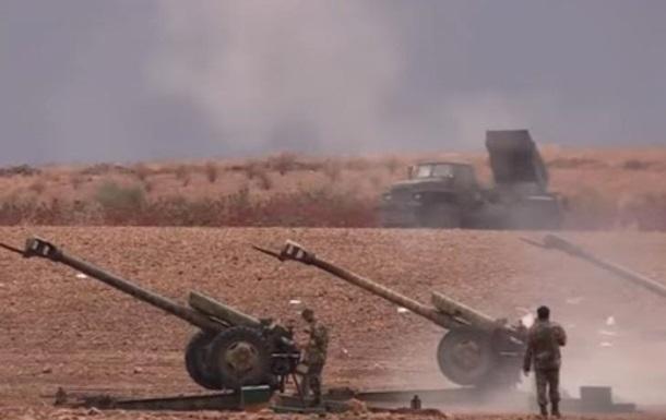 Армия Асада показала видео наступления на Алеппо