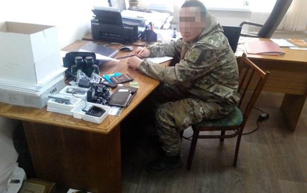На Днепропетровщине военный присвоил 50 тысяч от волонтеров