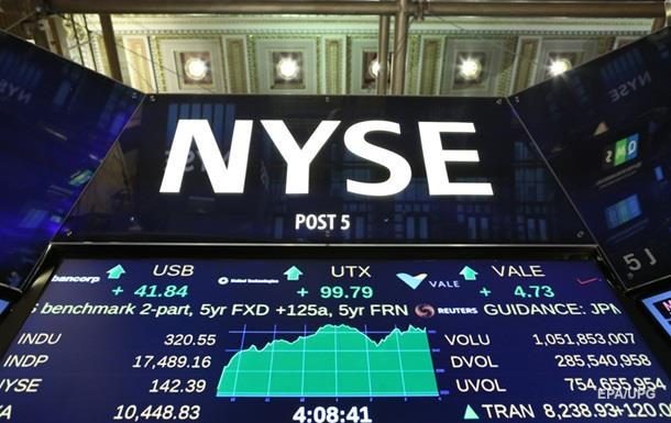 Торги на биржах США завершились падением котировок