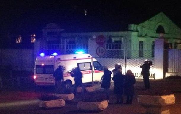Корбану вызвали  скорую  к отделению ГПУ в Киеве