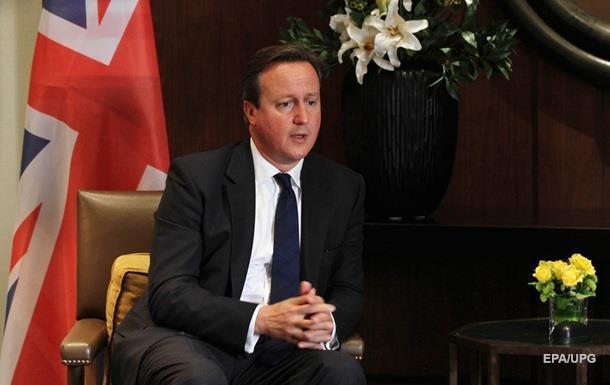 ЗМІ: Камерон відмовився від бомбардування ІДІЛ натериторії Сирії