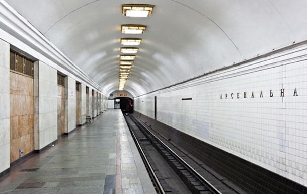 В киевском метро мужчина покончил с собой, бросившись под поезд