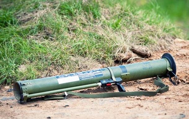 Киевлянин выловил в озере гранатомет