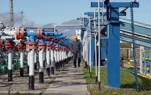 Украина приостанавливает закачку газа
