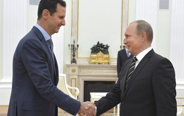 Москва не считает всех противников Асада террористами