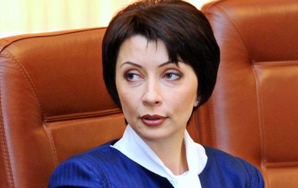 Экс-министр юстиции Лукаш везут в здание ГПУ