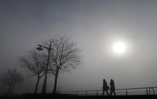 Завтра вКиєві очікується туман