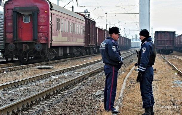 В Запорожской области загорелся поезд Мариуполь-Львов