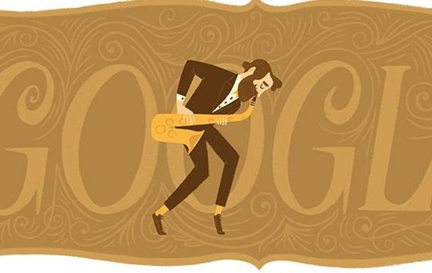 Google создал дудл в честь изобретателя саксофона