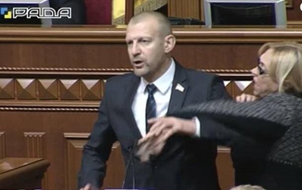 Тетерук не будет сдавать мандат из-за потасовки с Кужель