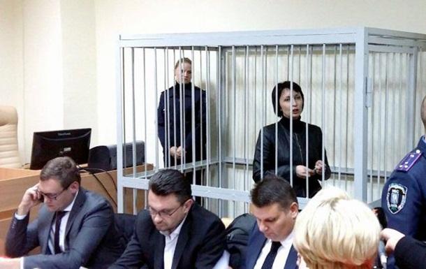 Елена Лукаш на суде