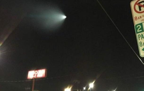 НЛО  над Калифорнией оказалось флотским учением