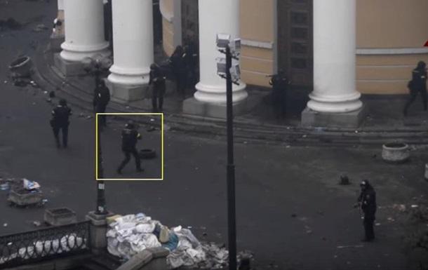 Появилось новое видео со стрельбой в майдановцев