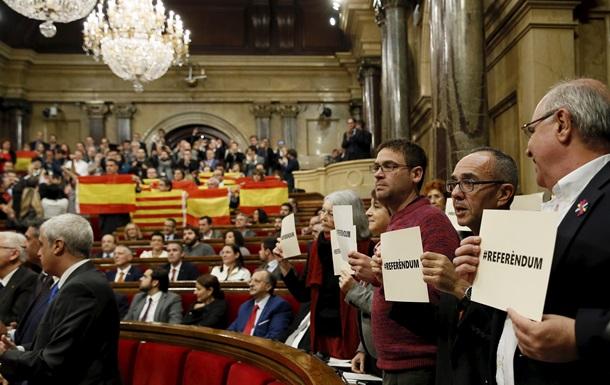 Часть Испании заявила о независимости