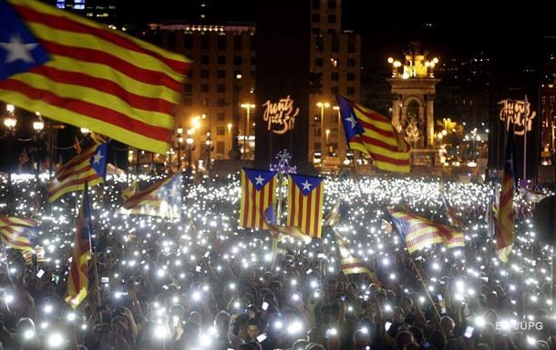 Борьба за независимость Каталонии продолжается