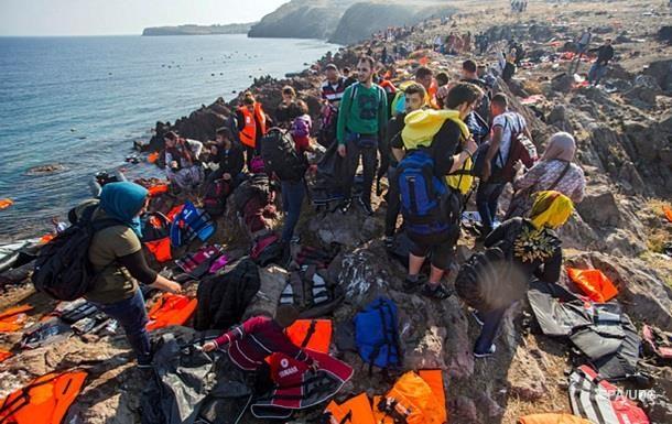 С начала года в Грецию прибыли более полумиллиона мигрантов