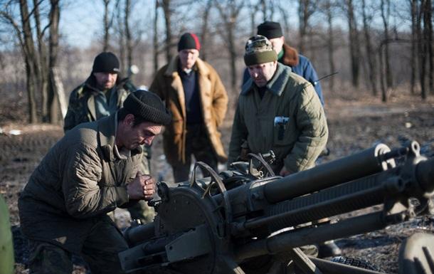 Донбасс обстреливают из минометов