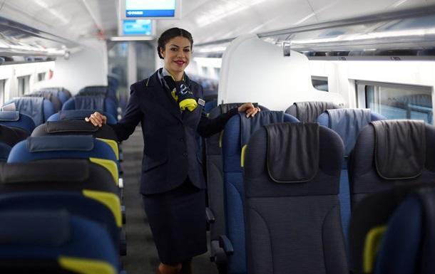 Стюардесса на рейсе в Лондон