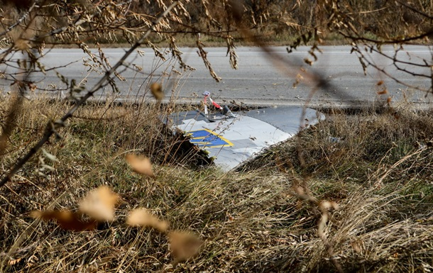 Опубликованы фото с места падения Су-25