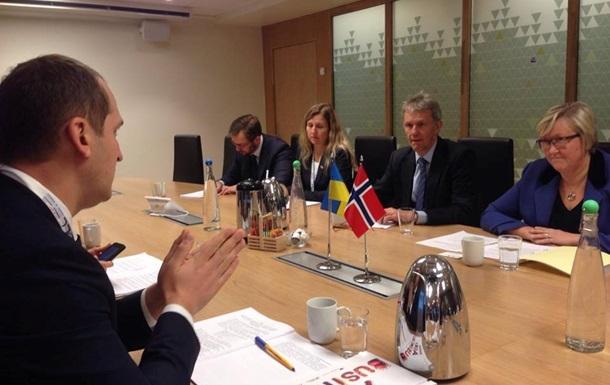 Товарооборот между Украиной и Норвегией увеличился