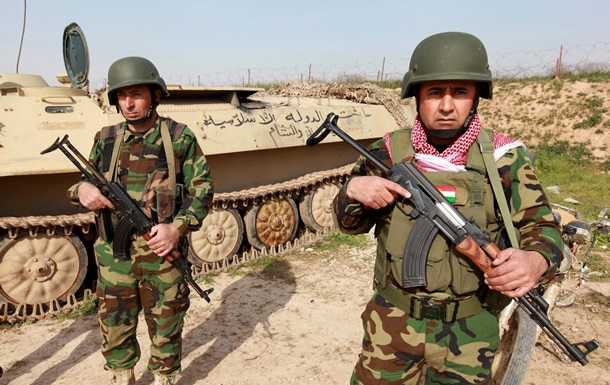 Курды при поддержке США наступают на ИГИЛ