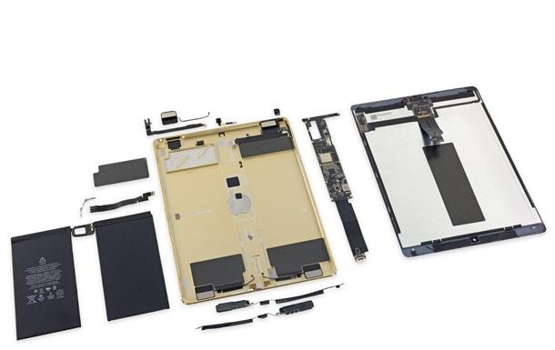 Внутренности iPad Pro