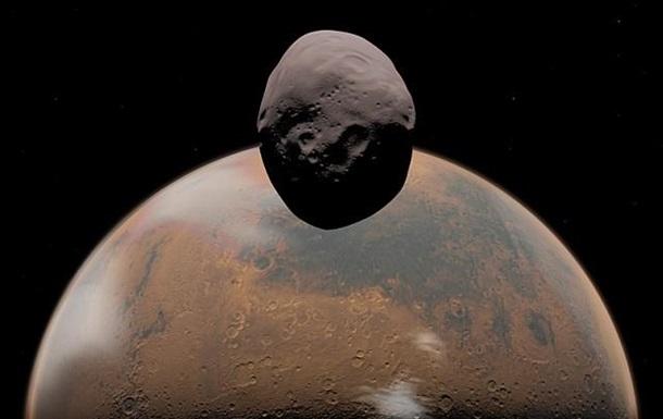 Марс разрушает свой спутник Фобос