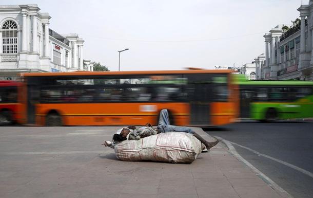 Загрязнение воздуха в Нью-Дели в 23 раза превысило норму