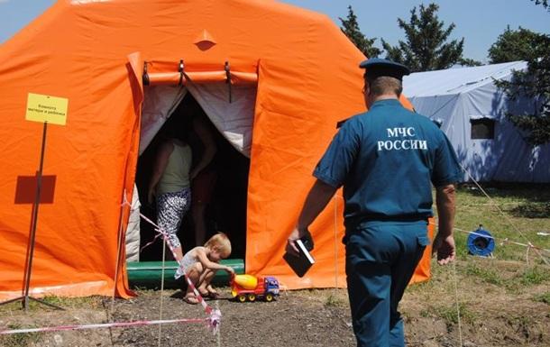 РФ закроет пункты для беженцев из Украины - СМИ