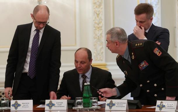 Отставки правительства Яценюка не будет - Парубий