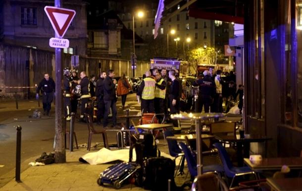 Теракты в Париже: задержаны шестеро подозреваемых