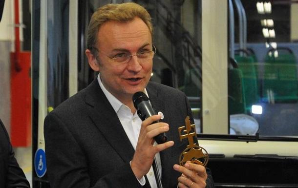 Садовый лидирует в борьбе за пост мэра Львова