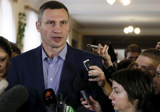Киевляне отправили Кличко в глубокий нокаут