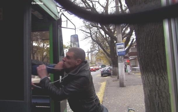 В Одессе пассажир подрался с водителем троллейбуса