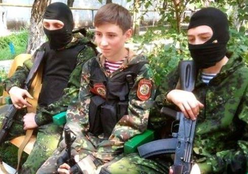 Детское лицо войны на Донбассе