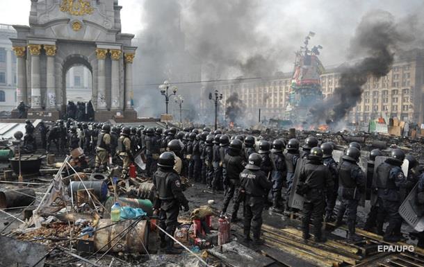 Отчет силовиков о преступлениях против Евромайдана