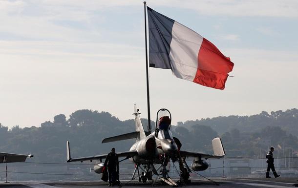 Франция и Россия показали видео авиаударов по ИГИЛ