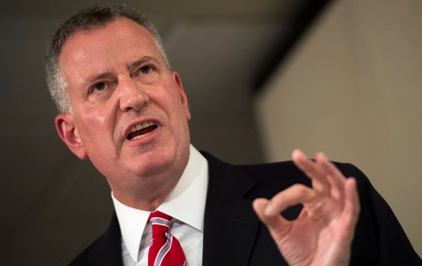 Мэр Нью-Йорка заявил о готовности принять сирийских беженцев