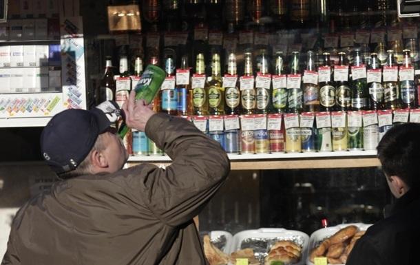 Украина сократила производство водки и пива