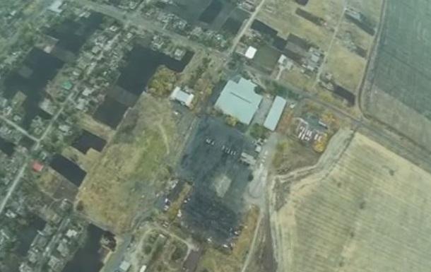 Силовики показали кадры с подбитого беспилотника