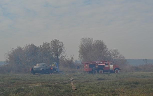 На Киевщине и Сумщине тлеет торф