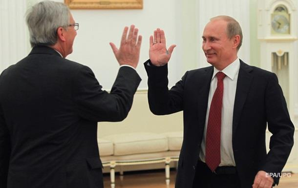 Юнкер предлагает Путину укрепить торговые связи