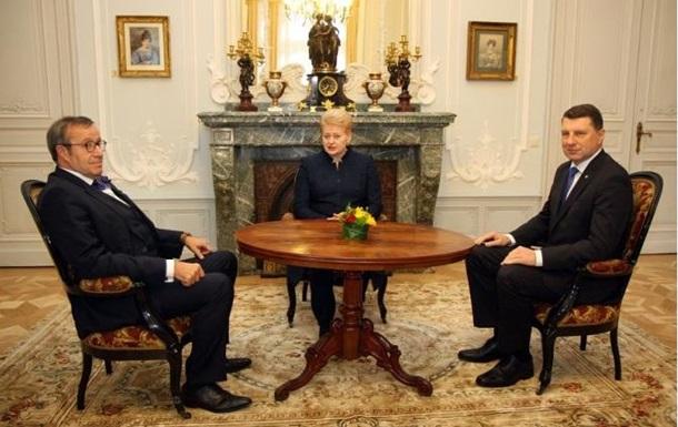 Страны Балтии отказались от коалиции с Россией против ИГИЛ