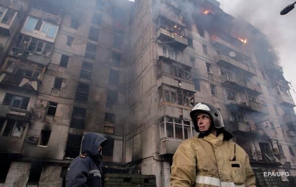 Дончане сообщают о сильных обстрелах города