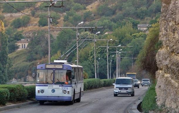 В Севастополе прекращено движение троллейбусов