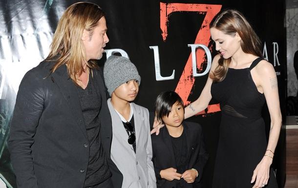 Сын Джоли и Питта снимается в новом фильме мамы