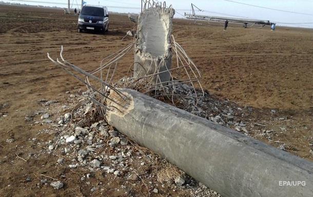 Подрыв ЛЭП может привести к веерным отключениям по Украине - Оппоблок