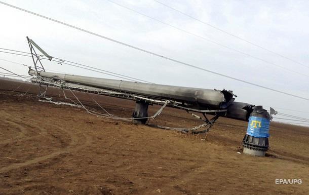 Срыв энергопоставок в Крым посчитали форс-мажором