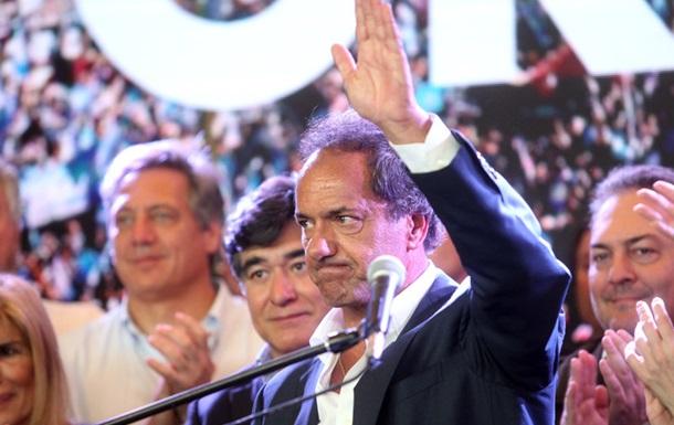 Кандидат от правящей партии признал поражение на выборах в Аргентине