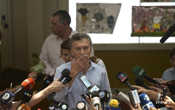 На президентских выборах в Аргентине победил оппозиционер